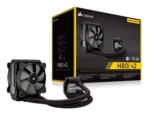 Corsair H80i V2 Water Cooler Hydro Series S/ Acessório