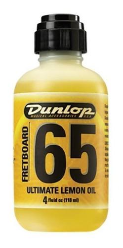 Imagem 1 de 6 de Limpador Dunlop 65 Oleo Limão Escalas Guitarra Baixo