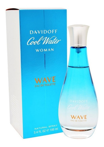 Cool Water Wave 100 Ml Edt Spray De Davidoff