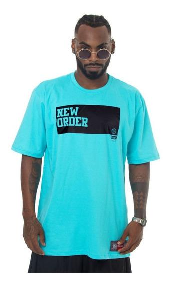 Camiseta Prison Streetwear Azul New Order Lançamento