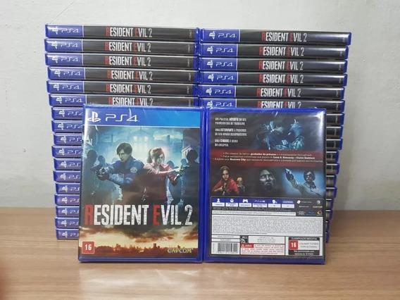 Resident Evil 2 Remake Re2 Ps4 Mídia Física Lacrado Nacional