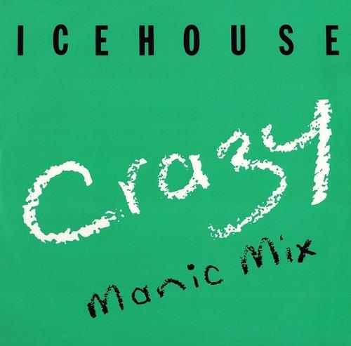 Imagem 1 de 2 de Lp Single Vinil 12 Icehouse Crazy (manic Mix) Ed. Uk 1987