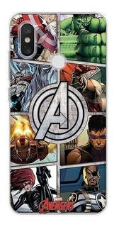 0fyinsea - Para Xiaomi Mi 5s - Marvel Avengers Comics Soft T