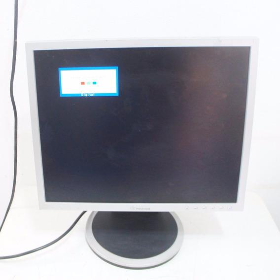 Monitor Positivo P017t107s Lcd 17p Com Base