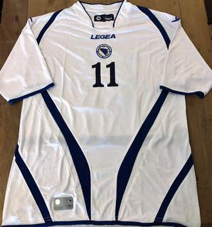 Camisa Bósnia & Herzegovina 2009 Dzeko #11