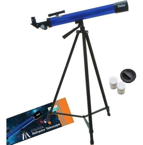Telescópio / Luneta 160x - Astronômico / Terrestre Com Tripe