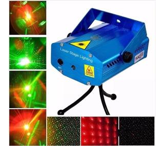 Mini Proyector Luces Láser - Lluvia Multipunto