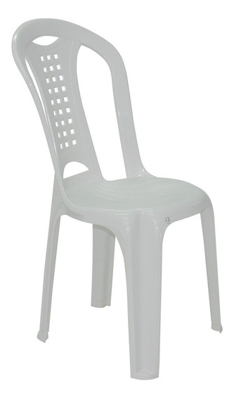 Cadeira Imbituba Economy Sem Braço Branca Tramontina