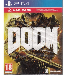 Doom Uac Pack Ps4 Nuevo Y Sellado