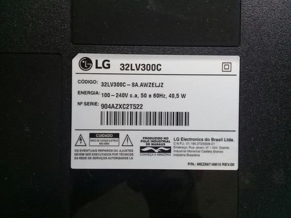 Placa Principal Tv LG 32lv300c Semi Nova.