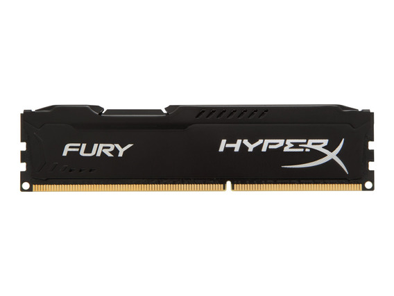 Memoria Kingston Ddr3 8gb 1866 Hyperx Fury Negro C