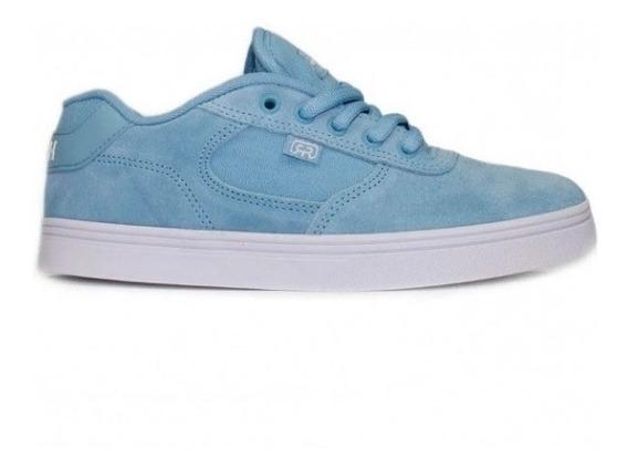 Tênis Hocks Skate Flat Lite Ciel Azul Branco Original