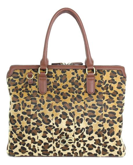Porta Laptop Con Estampado De Leopardo