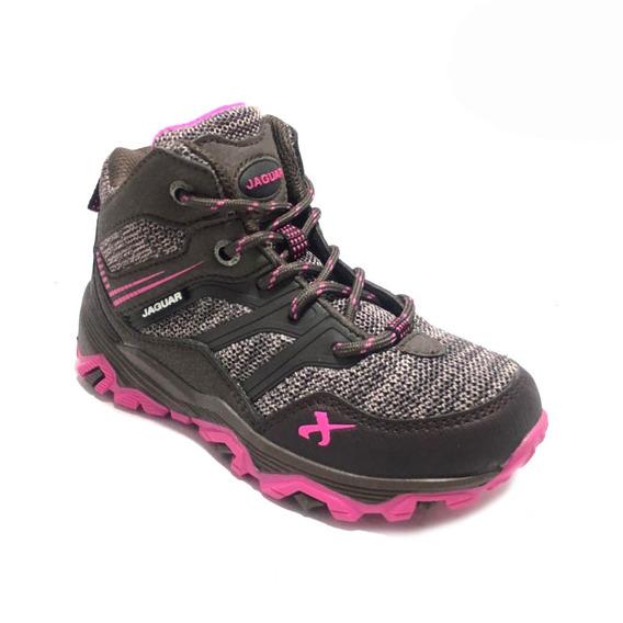 Zapatillas Botita De Niñas Trekking (33/3003) Envio Gratis