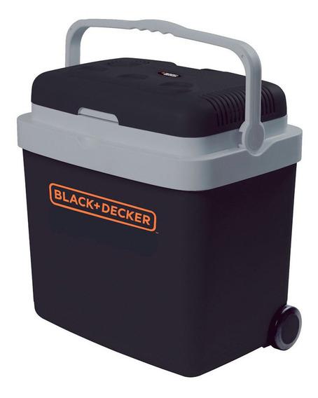 Mini Geladeira Portã¡til 33l 12v Black + Decker Bdc33l-br
