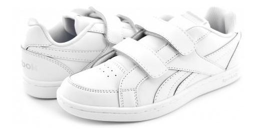 Tenis Escolar Reebok V69999 White/silver Royal Prime 17-22