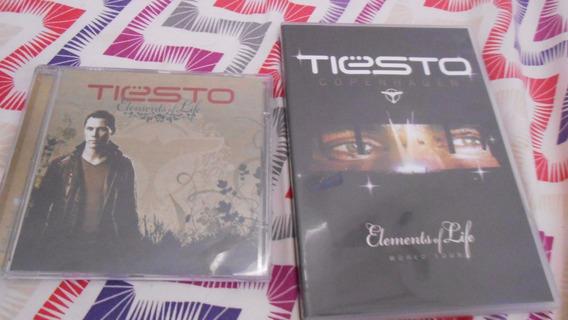 Dvd Duplo Tiesto Elements Of Live Copenhagen + Cd Element L