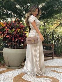 Vestido Longo Thais Rodrigues Moda Evangélica