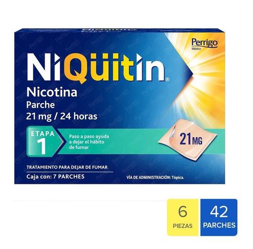 Niquitin Tratamiento Para Dejar De Fumar Etapa 1 - 6 Pack