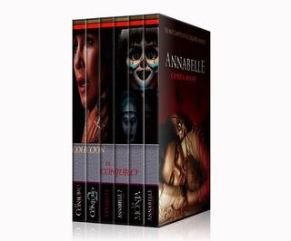 El Conjuro- Annabelle - La Monja Saga Colección Completa Dvd