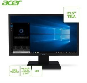 Monitor Acer 21,5 Led Full Hd V226hql / Dvi / Hdmi / Vesa