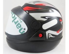 Capacete Moto Taurus San Marino Grafic Preto Fosco 62