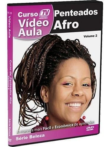Curso Video Aula Peteado Afro Renda Extra Trabalhe Em Casa