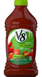 V8 Sumo De Vegetales Bidon 2 Un X 1,36lt Envios Oferta!