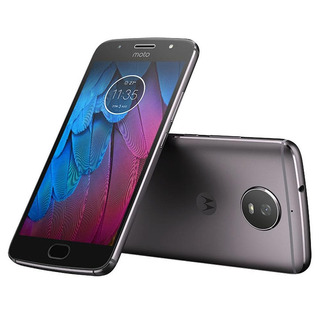 Celular Motorola Moto G5s Preto 32gb Dual Carregador Turbo
