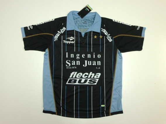 Camiseta Alt. Negra Atletico Tucuman 2010 Topper Talle M