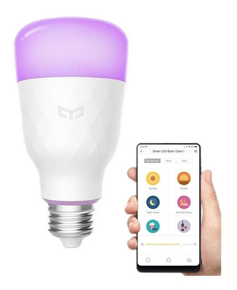 Lâmpada Led Xiaomi Yeelight Rgbw