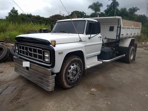 Ford - F-14000- Caçamba -1990- Motor - Mwm - Original