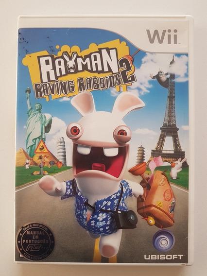 Rayman Raving Rabbids 2 Original Para Nintendo Wii