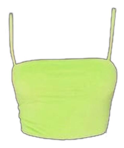 Blusa Juvenil Para Mujer Verde Manzana F.24