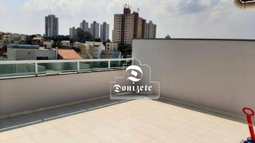 Cobertura Com 2 Dormitórios À Venda, 92 M² Por R$ 308.000,00 - Jardim Progresso - Santo André/sp - Co11933