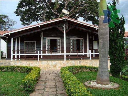 Chácara Com 3 Dormitórios À Venda, 900 M² Por R$ 650.000 - José Veríssimo - Paraisópolis/mg - Ch0059