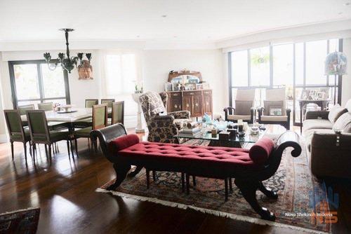 Imagem 1 de 30 de Apartamento Com 3 Dormitórios À Venda, 178 M² Por R$ 1.650.000,00 - Campo Belo - São Paulo/sp - Ap12088