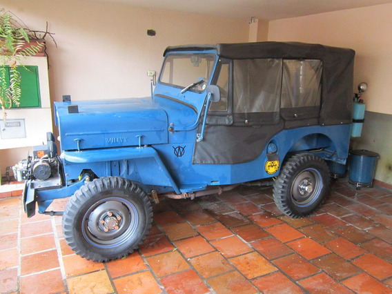 Jeep Willys Cj3b - Modêlo 1954