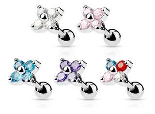 Piercing Flor Strass Piercing Argentina ®