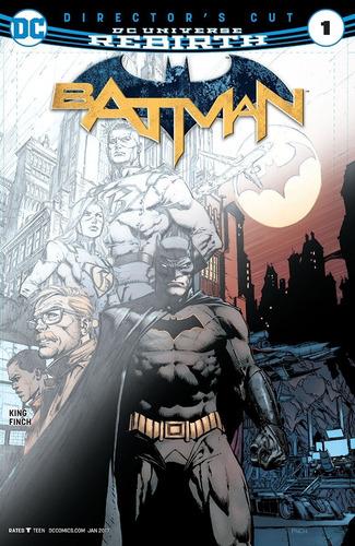 Batman Director's Cut #1 Rebirth (2016) Dc Comics