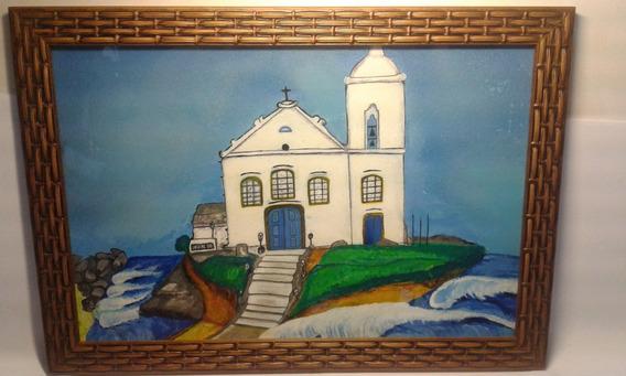 Quadro Igreja Nossa Senhora De Nazareth Saquarema 23x33