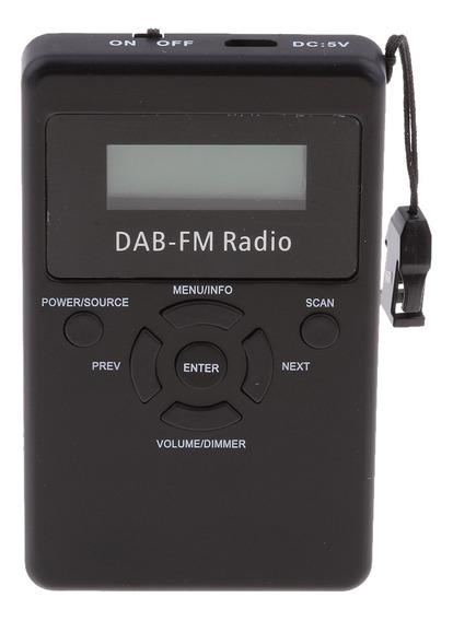 Am Fm Fm Handheld Radio Digital Dab Portátil Estéreo Fm Bate