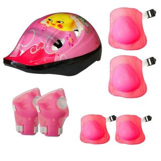 Kit Proteção Infantil Capacete Bike Skate Patins Cores