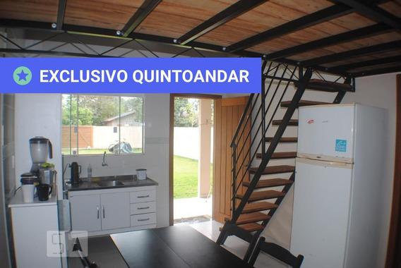 Casa Mobiliada Com 1 Dormitório E 1 Garagem - Id: 892950212 - 250212