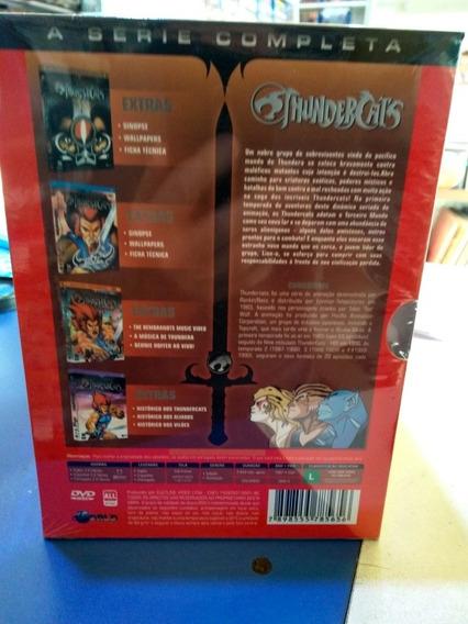 Thundercats A Série Completa Box 20 Dvd Original Lacrado