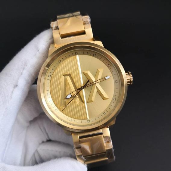 Relógio Armani Ax1363, 1 Ano De Garantia.