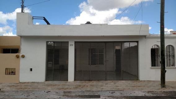 Hermosa Casa En El Fraccionamiento De Francisco De Montejo