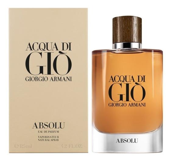 Acqua Di Giò Absolu Edp 125ml Masculino | Original + Amostra