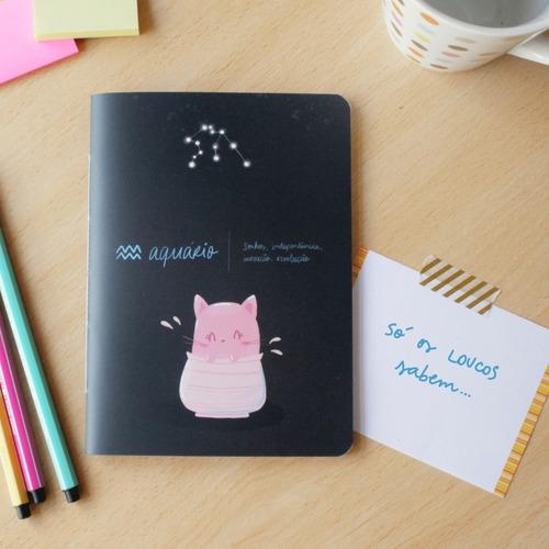Caderninho Signos - Aquário