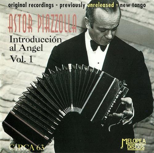 Astor Piazzolla - Introducción Al Ángel Vol. 1 - Cd